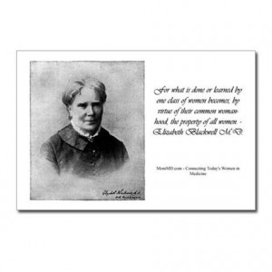 Gifts > Postcards > Postcards (Package of 8) - Elizabeth Blackwell M.D