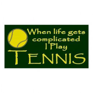Tennis lustig, wenn das Leben schwieriges i-Spiel Plakat