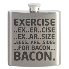 Bacon Logical Deduction Flask for