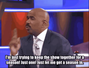 The 22 Best Reactions From Steve Harvey On