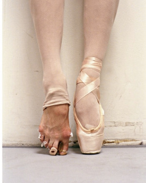Ballet Shoes Quotes Quote: ballerina feet 3