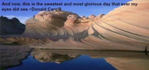 most glorious day that ever my eyes did see donald cargill # quotes ...