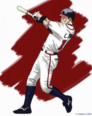 Free Atlanta Braves Chipper