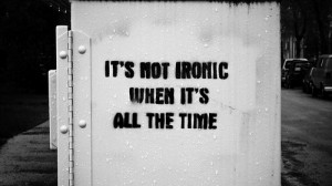 All The Time Black And White Quote
