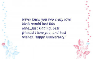 Funny anniversary quotes for husband