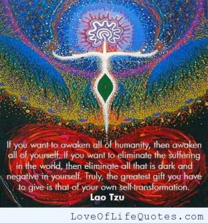 This quote by Lao Tzu