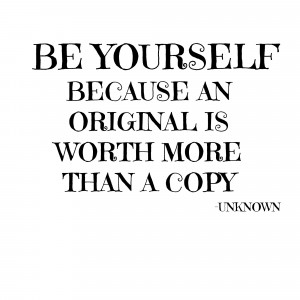wonderful quotes about being yourself