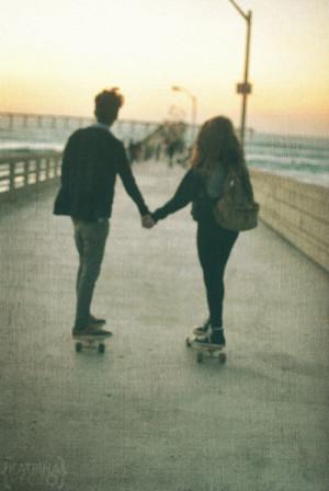 beauy, couple, dope, grunge, love, sk8, skate