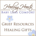 The Baby Loss Comfort line from Earth Mama, Angel Baby: