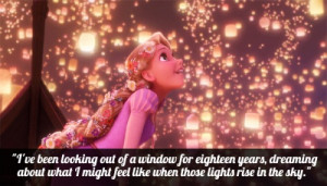 disney flynn rider love quote rapunzel stars tangled yellow