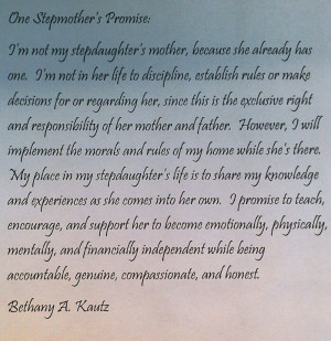 Stepmother's Promise