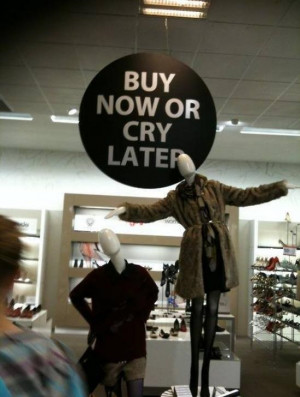 ... pics funny pictures humor lol shopping sign making shopping more fun