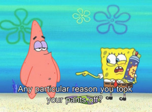 Funny Spongebob Quote