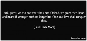 More Paul Elmer More Quotes