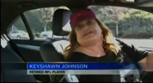 Keyshawn Johnson Turns Into