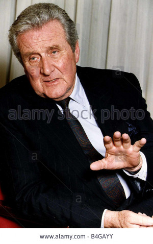 Stock Photo Patrick Macnee actor The Avengers