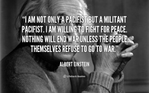 Albert Einstein War Quotes