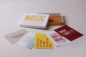 Music Quote Cards