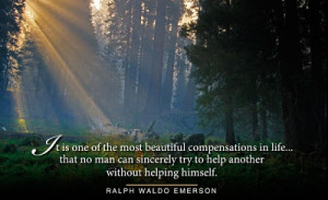 Thoughts on life-Help others by helping yourself - Famous Quotations ...
