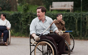 Fighting Spirit: Rob Brydon as Bowen in The Best of Men Photo: BBC