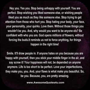 Awesome Quotes About Being Happy Spillerena