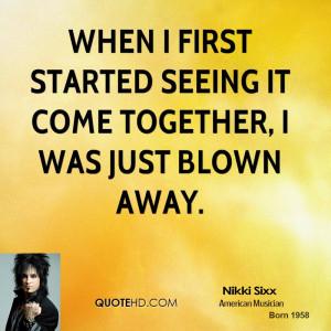 Nikki Sixx Quotes Quotehd