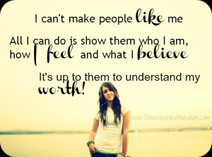 You Can't Make People Like You