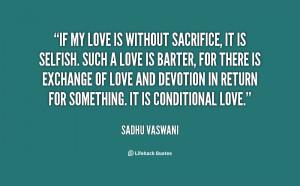 Love Sacrifice Quotes