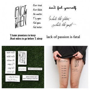 ... .etsy.com/listing/156888902/quotes-set-temporary-tattoo-quote-set-of