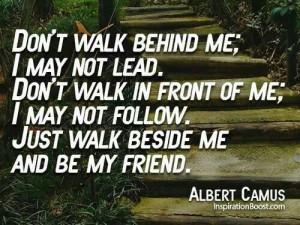 Albert camus...friendship