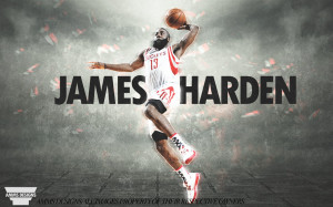 James Harden Dunk Poster by AMMSDesings