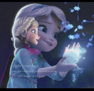 She soo cute. Elsa Disney frozen