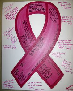 ... to mark then end of your chemo/cancer journey... Yellow/Sarcoma Ribbon