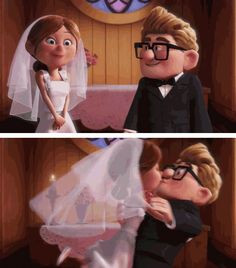 So, this isn't a quote but its just about the sweetest love story ever ...