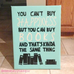 Canvas Painting Ideas Quotes Diy leather wrapped painted