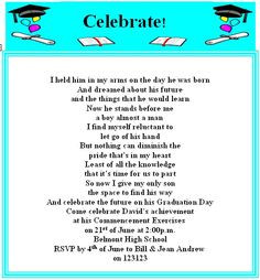 Graduation Quotes And Sayings Graduation party party