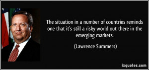 More Lawrence Summers Quotes