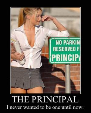 Reserved Principal Parking Spot