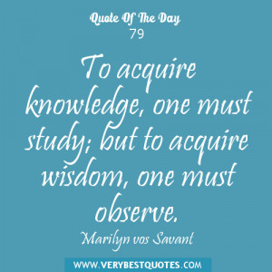 acquire knowledge quotes, wsidon quotes