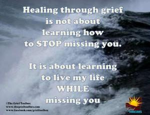 Healing through Grief - A Poem