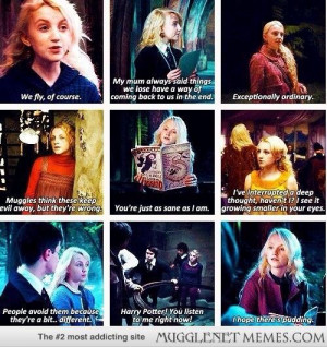 Luna Lovegood quotes