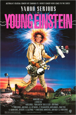 Cinematic Dregs: Young Einstein