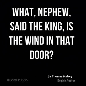 Sir Thomas Malory Quotes