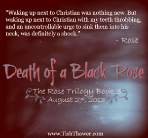 Death of a Black Rose Quotes
