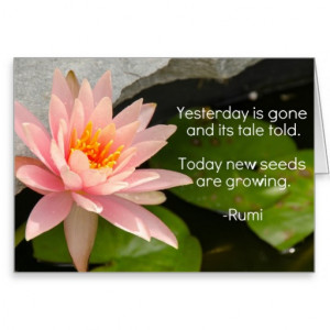 lotus_flower_with_rumi_quote_on_seeds_growing_card ...
