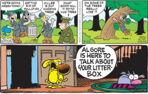 Funny Pages Go Green for Earth Day
