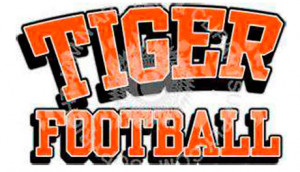 Tiger Football Logo With
