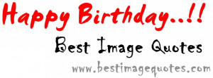 Happy First Birthday Best Image Quotes ♥♥