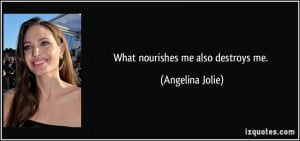 More Angelina Jolie Quotes