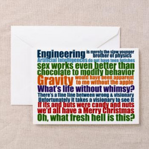 Sheldon Quotes Greeting Card   Gifts For A Geek   Geek T-Shirts